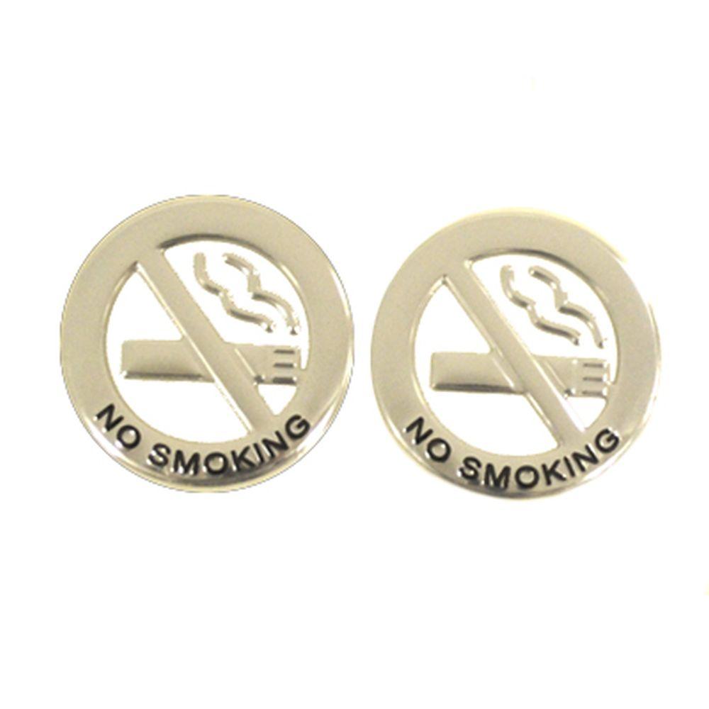 """Наклейка автомобильная """"Нимф, не курить"""" глянец микс"""