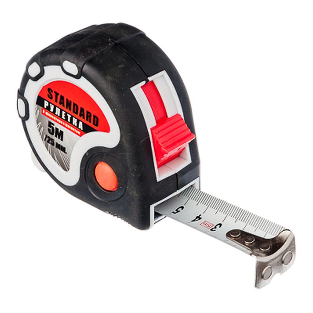 FALCO Standard Рулетка 5м х25мм 3 фиксатора
