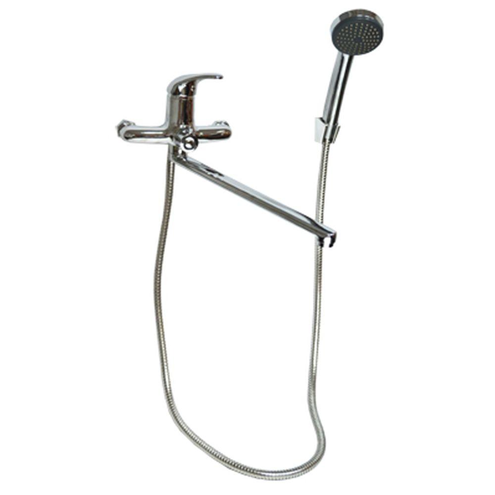 FRESSO Смеситель одноручный для ванны с длинным изливом картридж 35мм арт 6508