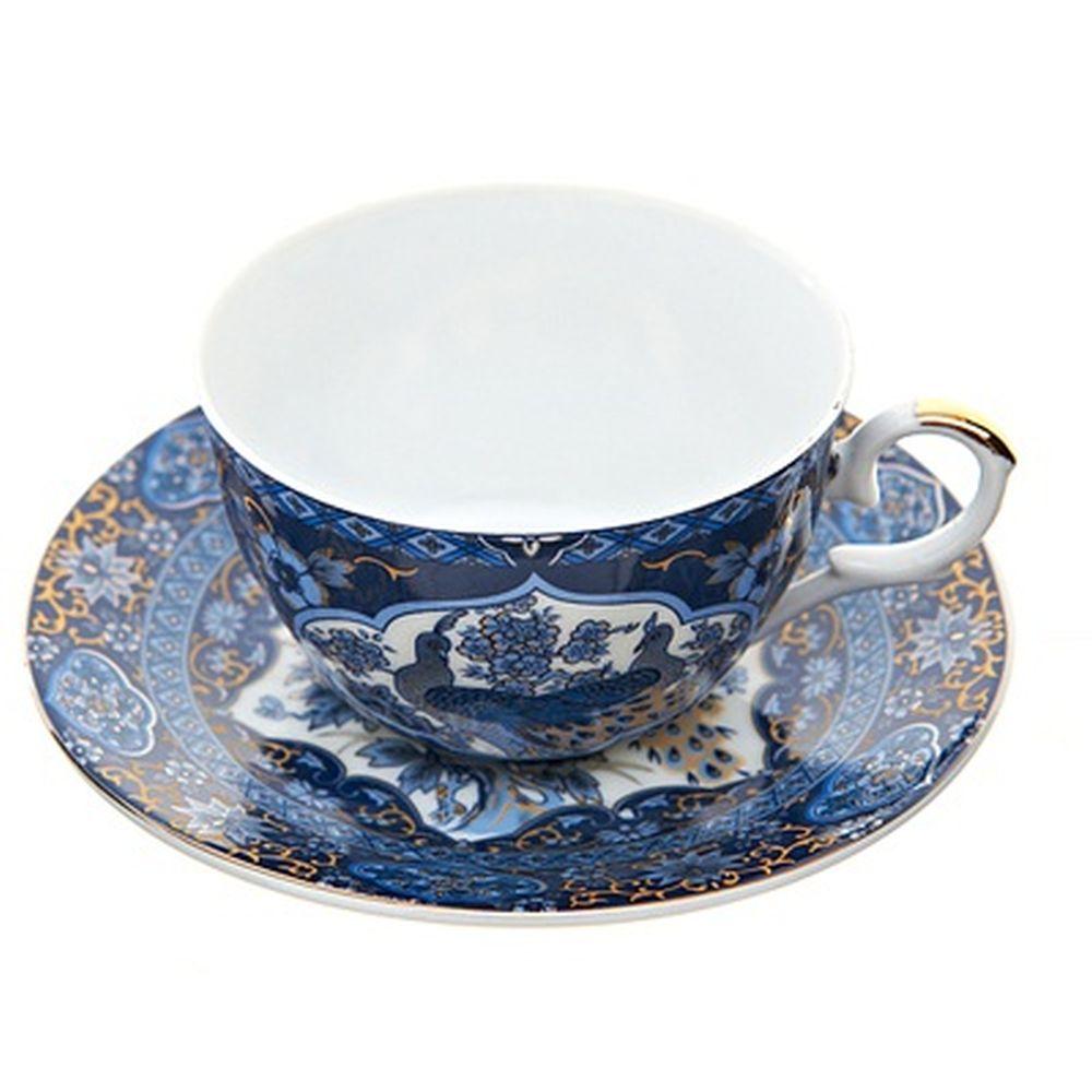 Набор чайный 4 пр. Царственные птицы 250мл, подар упак, 1270319