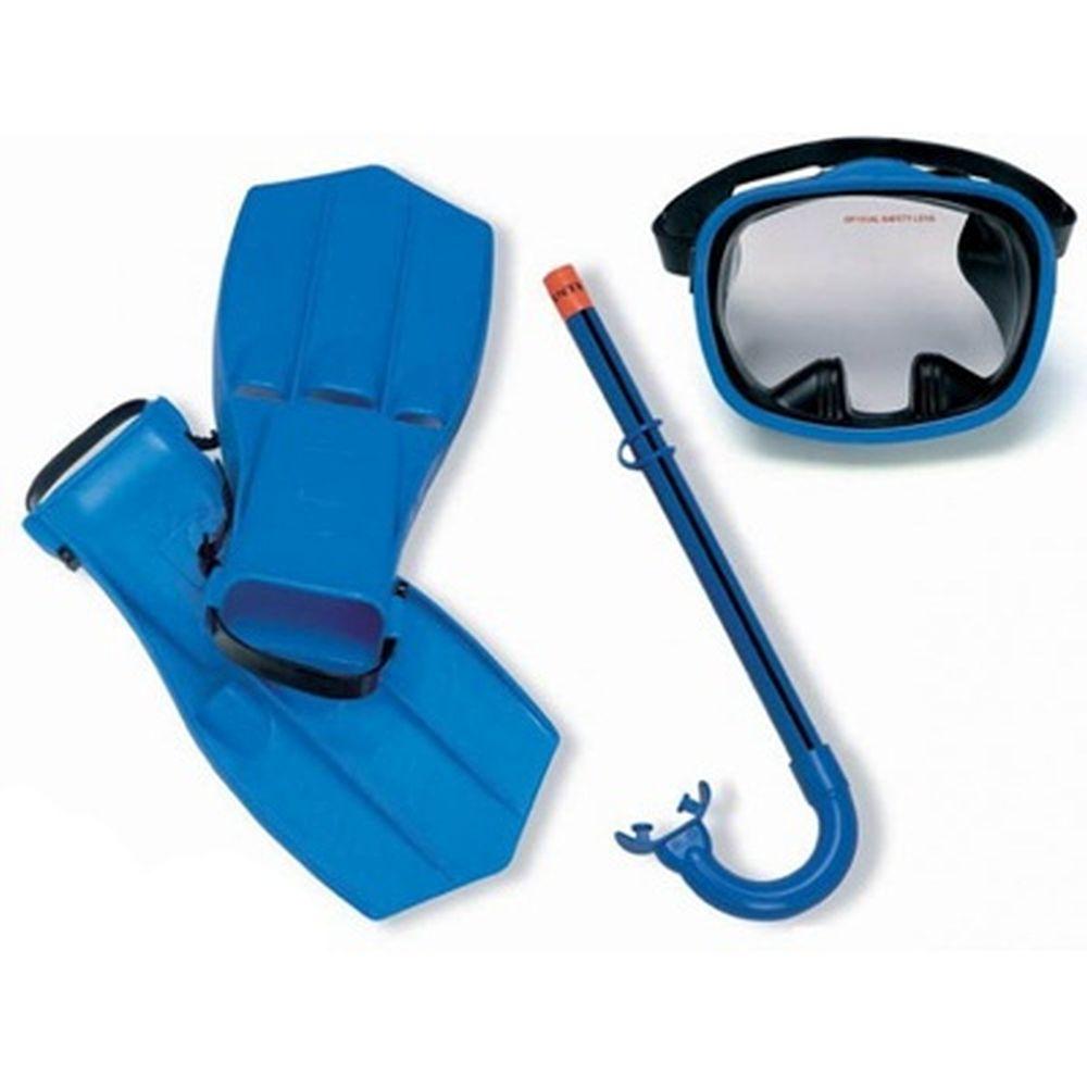 INTEX Набор для подводного плавания (маска,трубка,ласты) р.38-40, Master  55952