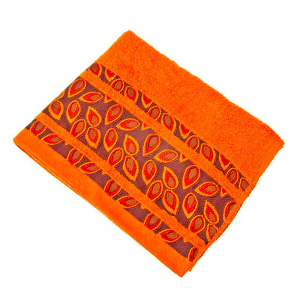 VETTA Полотенце махровое, 100% хлопок, 50х90см, Toscana оранжевое