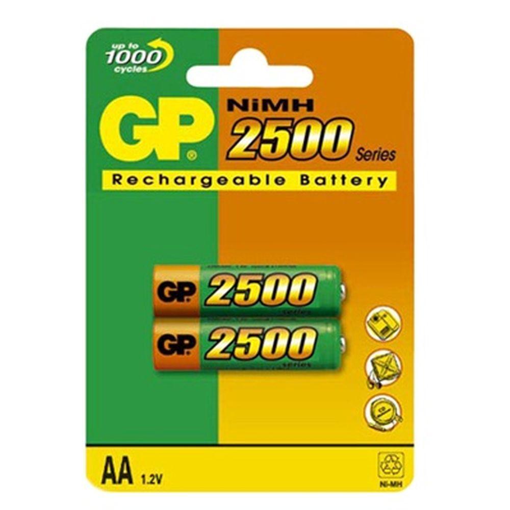 Аккумулятор 2 шт в уп. GP 100AAAHC/R03 1000mAh BL2