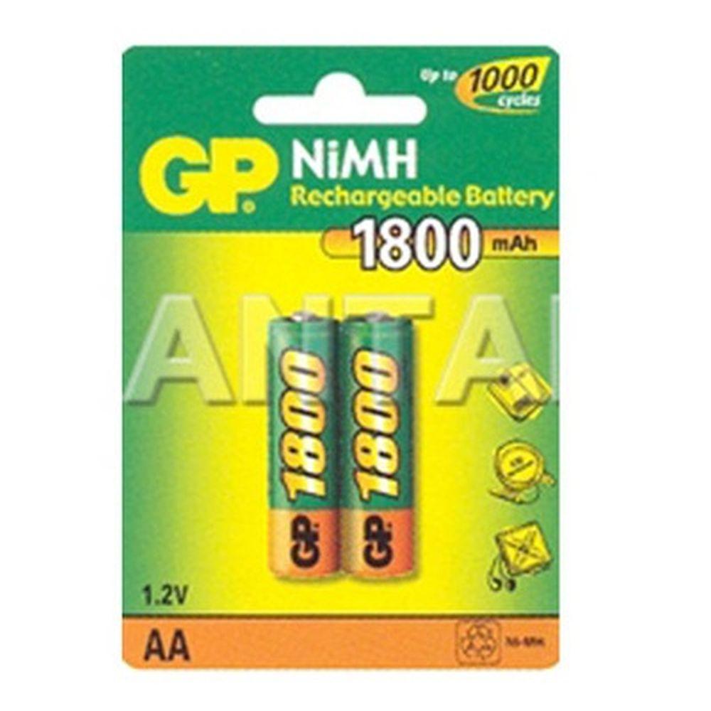 Аккумулятор 2 шт в уп. GP 210AAHC /R6 2100mAh BL2
