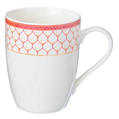 Кружка 360мл, фрф, Чашка кофе, микс, Rslee