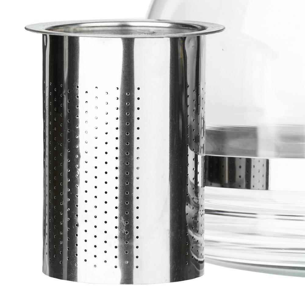 Чайник заварочный 1,5 л, стеклянный