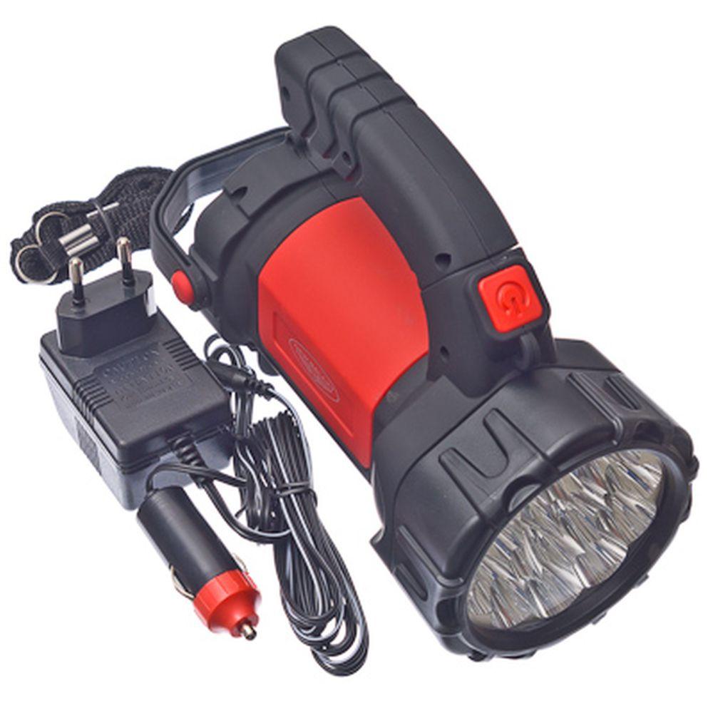 NEW GALAXY Фонарь аккумуляторный, 15+12 светодиодов