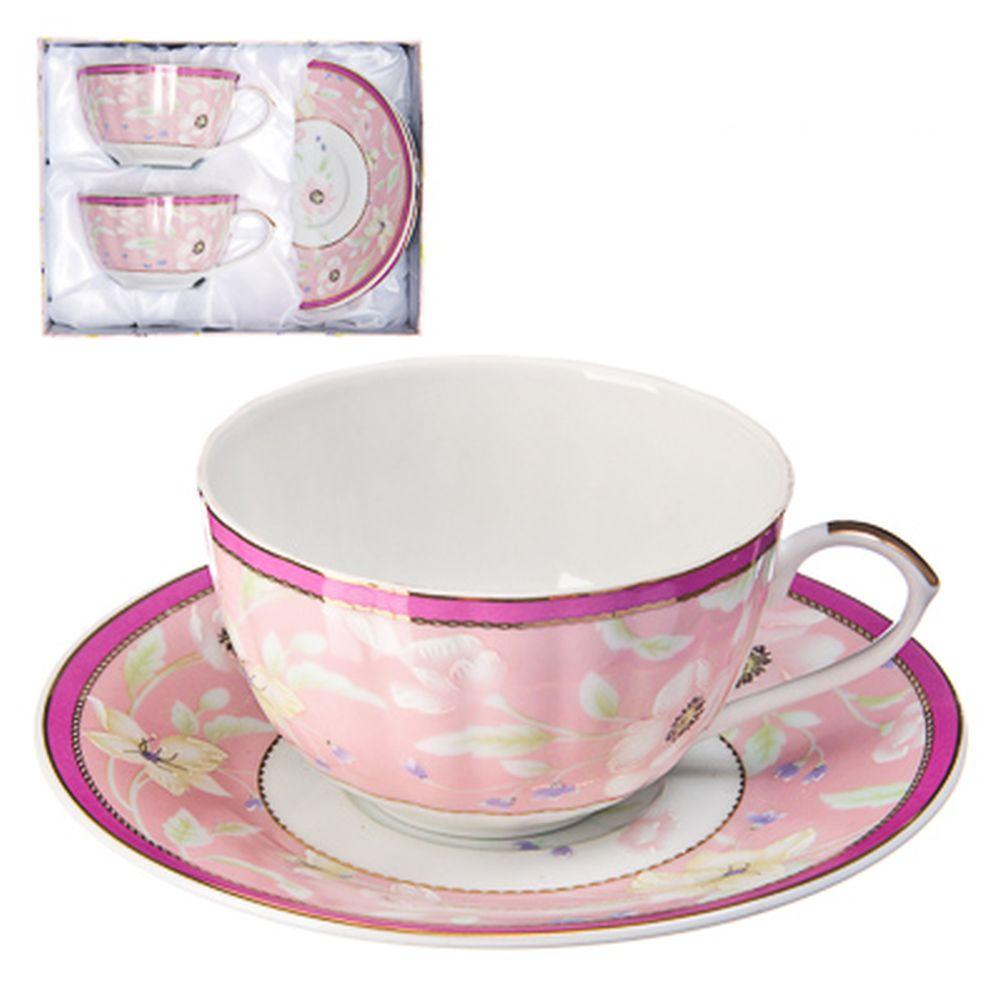 """Набор чайный 4 пр., 270мл, тнк. фрф, подар.уп, """"Воздушная нежность"""""""