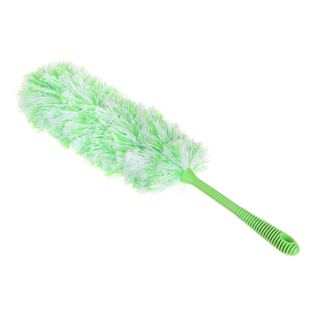 Сметка для удаления пыли, пластик, текстиль, 55х7 см, 4 цвета, VETTA