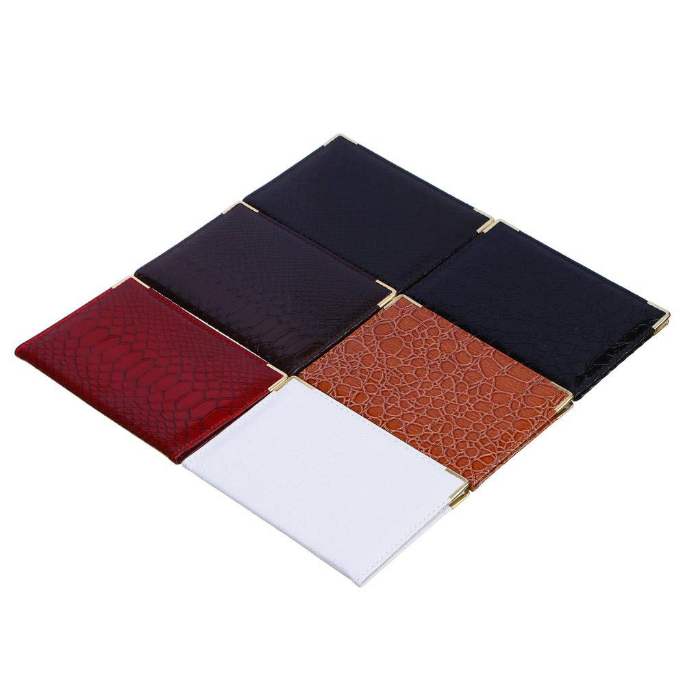 """Обложка для паспорта, ПВХ, 13,8x9,5см, """"Аллигатор"""""""