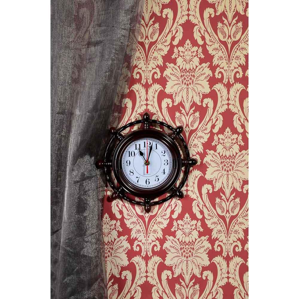 "Часы настенные, 25x25см, ""Штурвал"""