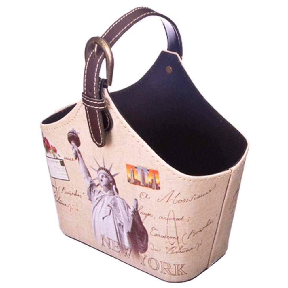 "Подставка-сумка ""Нью Йорк"" 18,5*19*9,6"