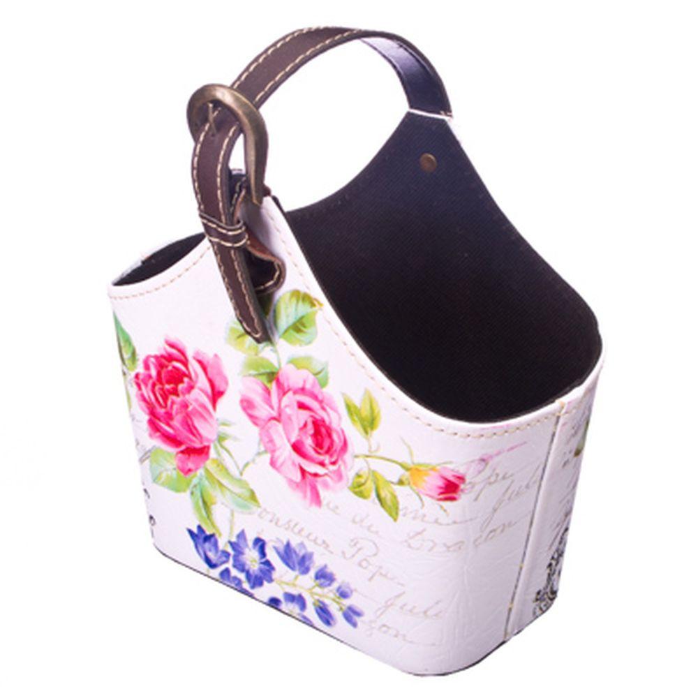 """Подставка-сумка """"Роза"""", ПВХ, 21x13x19см"""