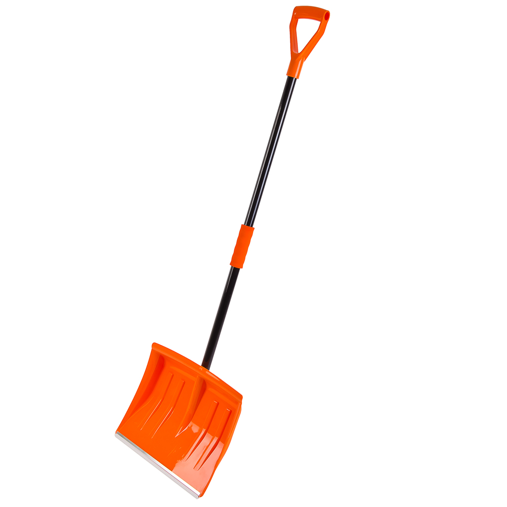 Лопата для уборки снега,металл-пластик, 138х40см