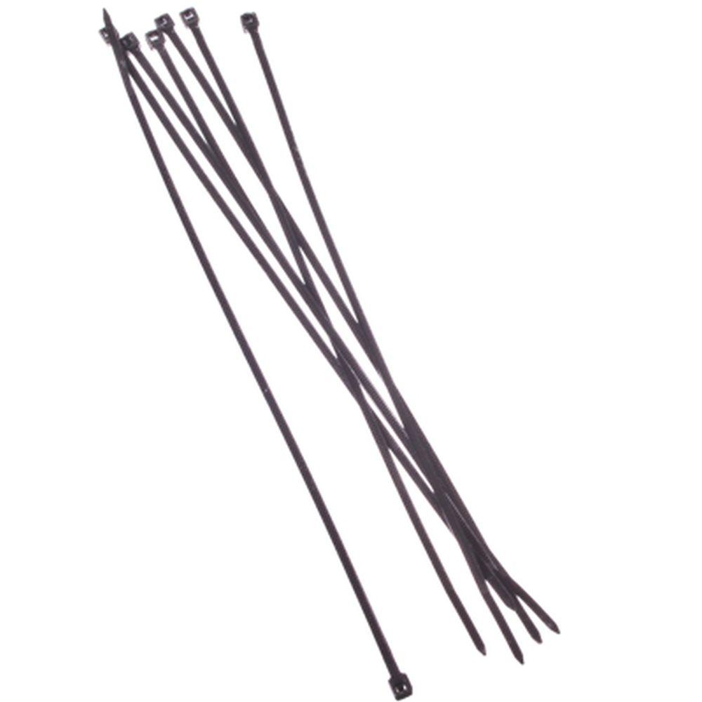 FALCO Хомут нейлоновый для стяжки 2,5х200мм, черный 100шт/уп