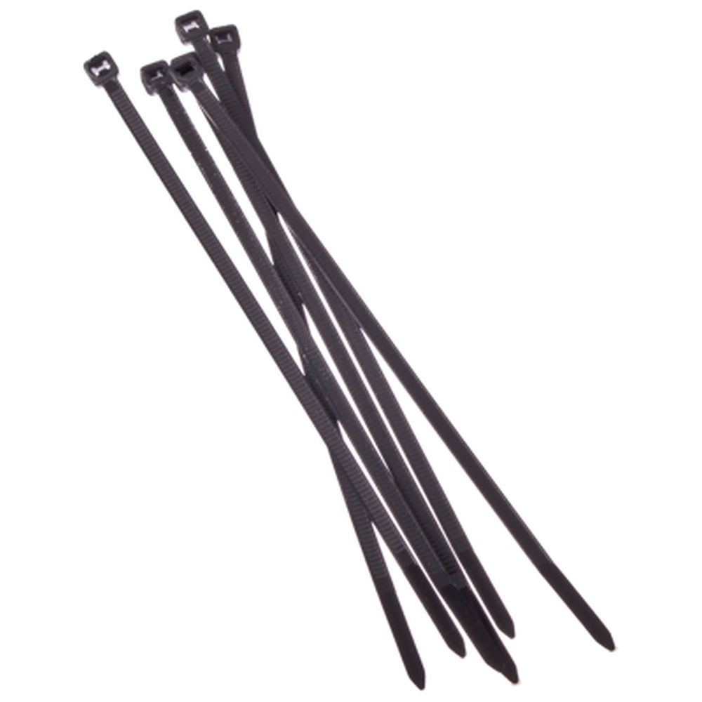 FALCO Хомут нейлоновый для стяжки 3,6х150мм, черный 100шт/уп