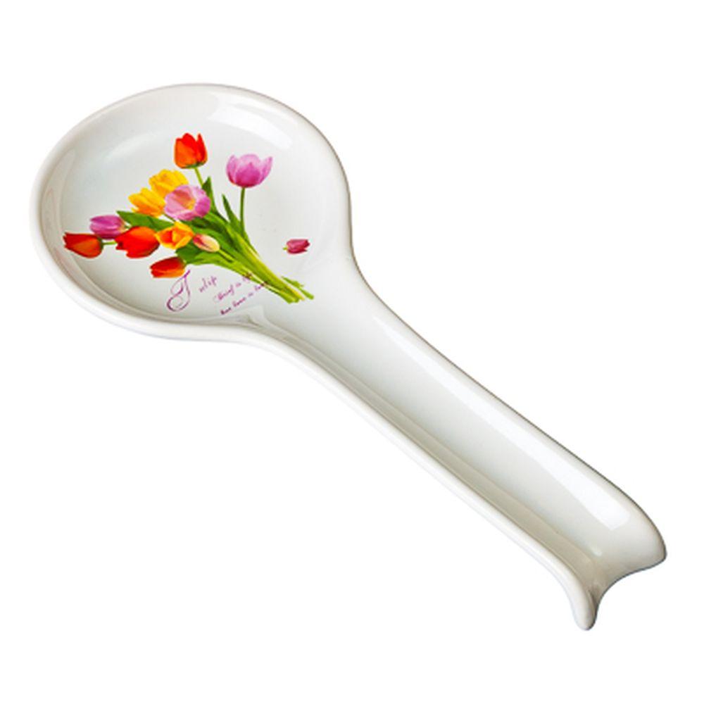 Тюльпаны Ложка подстановочная, 27см, керамика