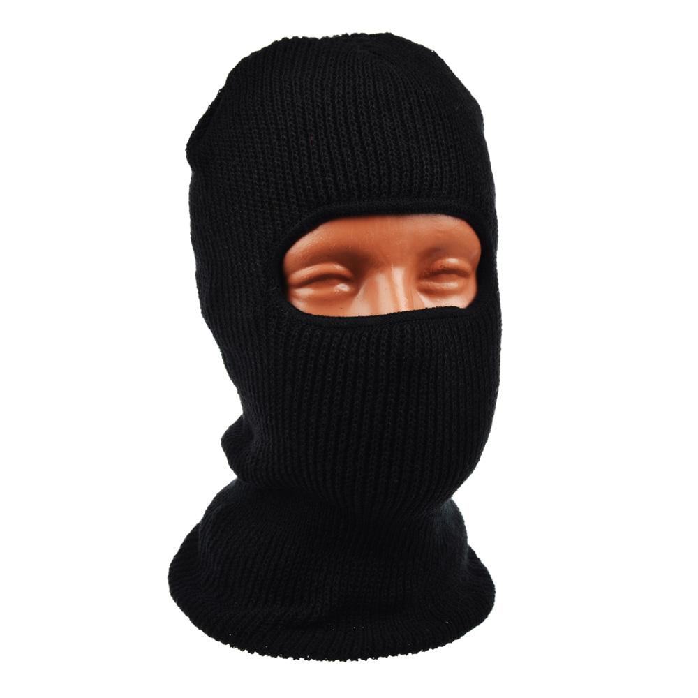 AZOR Шапка-маска одно отверстие, акриловый трикотаж