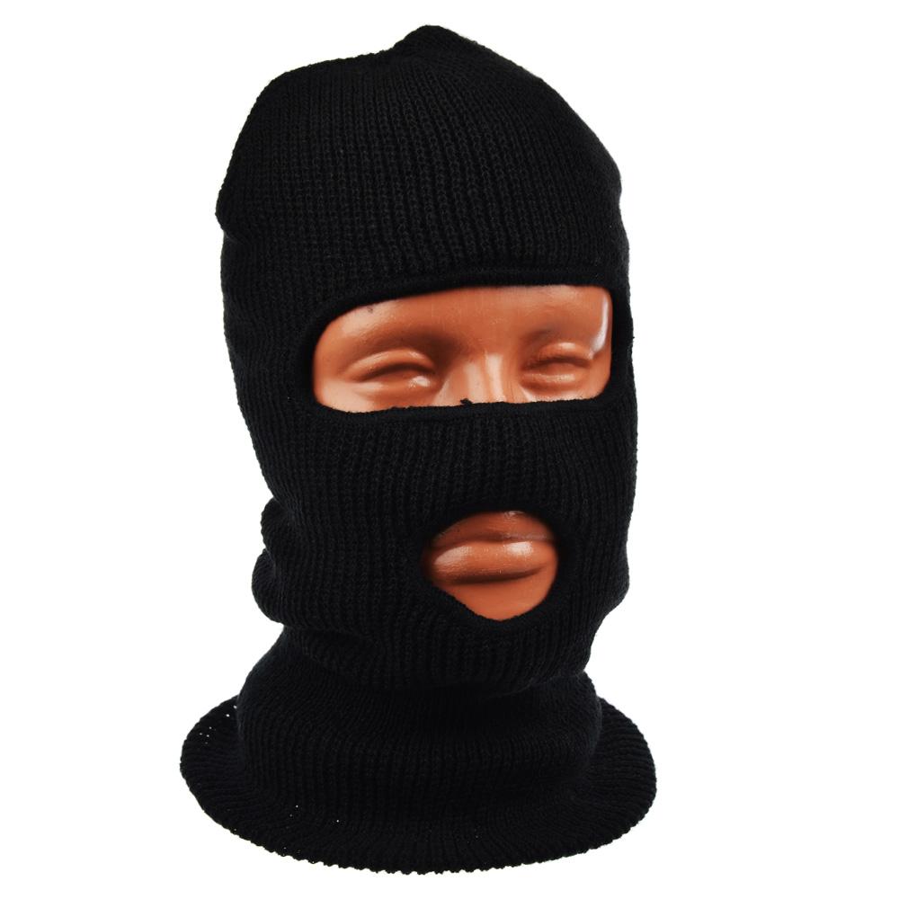 AZOR Шапка-маска два отверстия, акриловый трикотаж