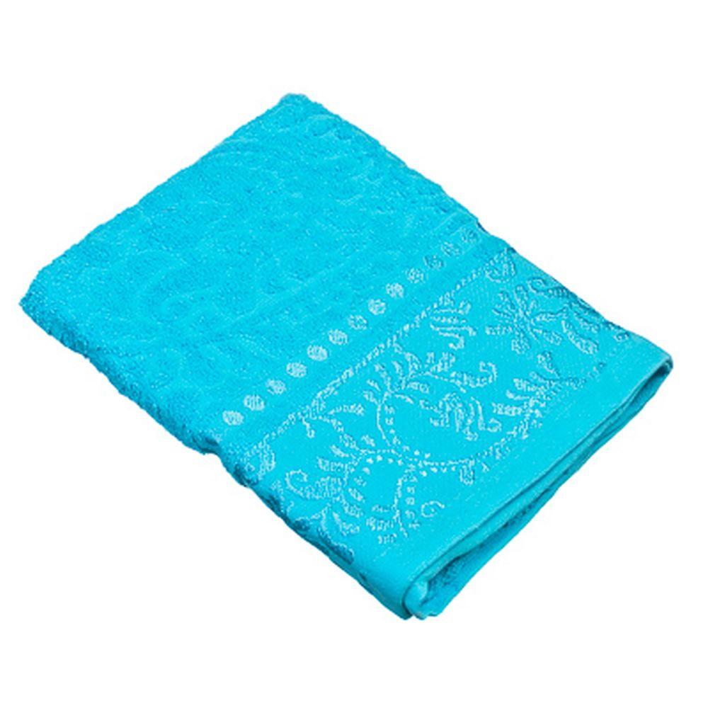 VETTA Полотенце банное, 100% хлопок Бристоль 50x90см, голубое
