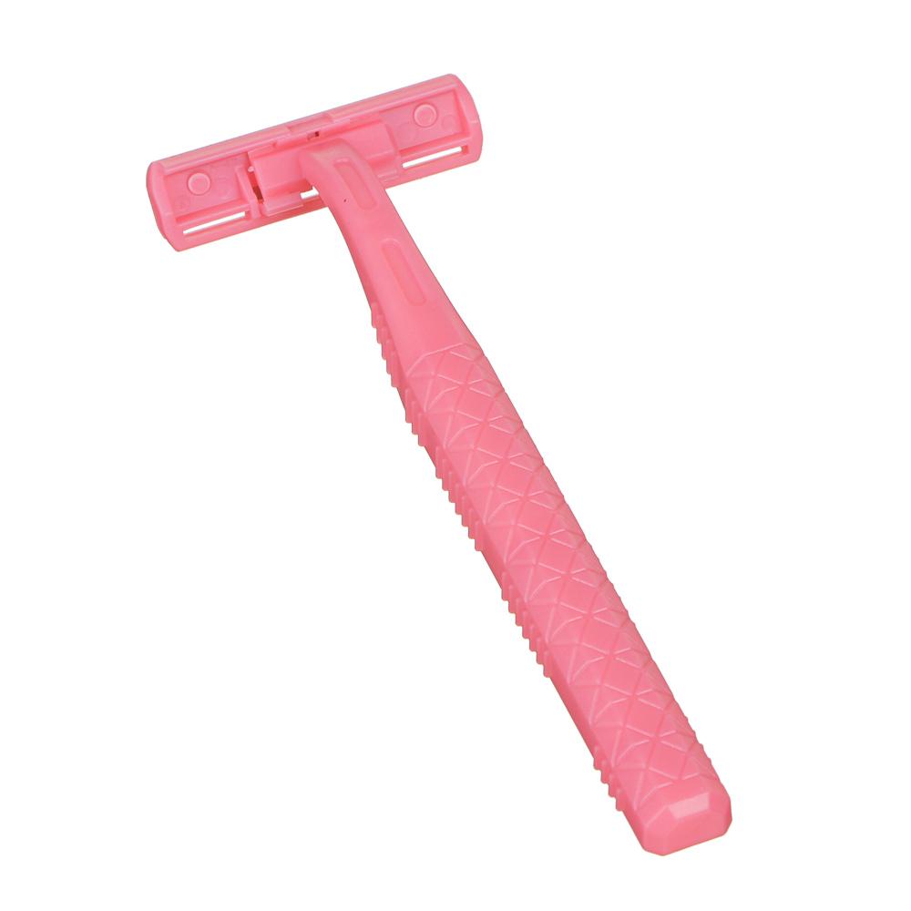 Станки для бритья с двойным лезвием 5шт для женщин, пластик