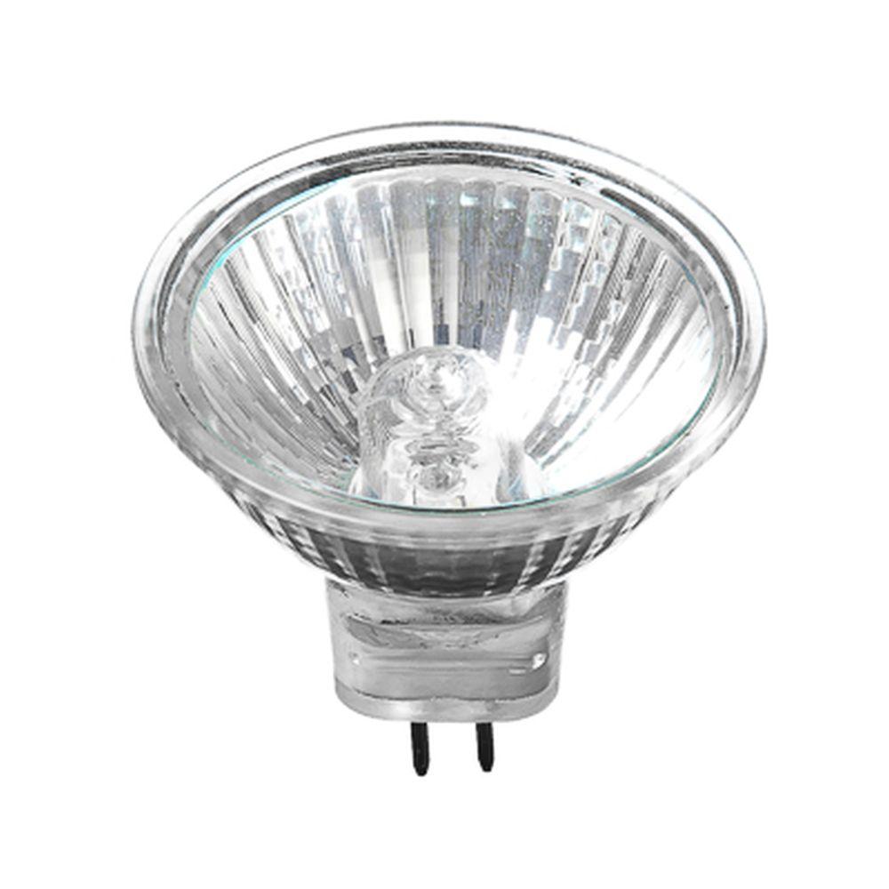 FORZA Лампа галогенная с защитным стеклом, цоколь GU5.3, 220В, 50Вт, 2800K, ресурс 2000ч., D50 мм
