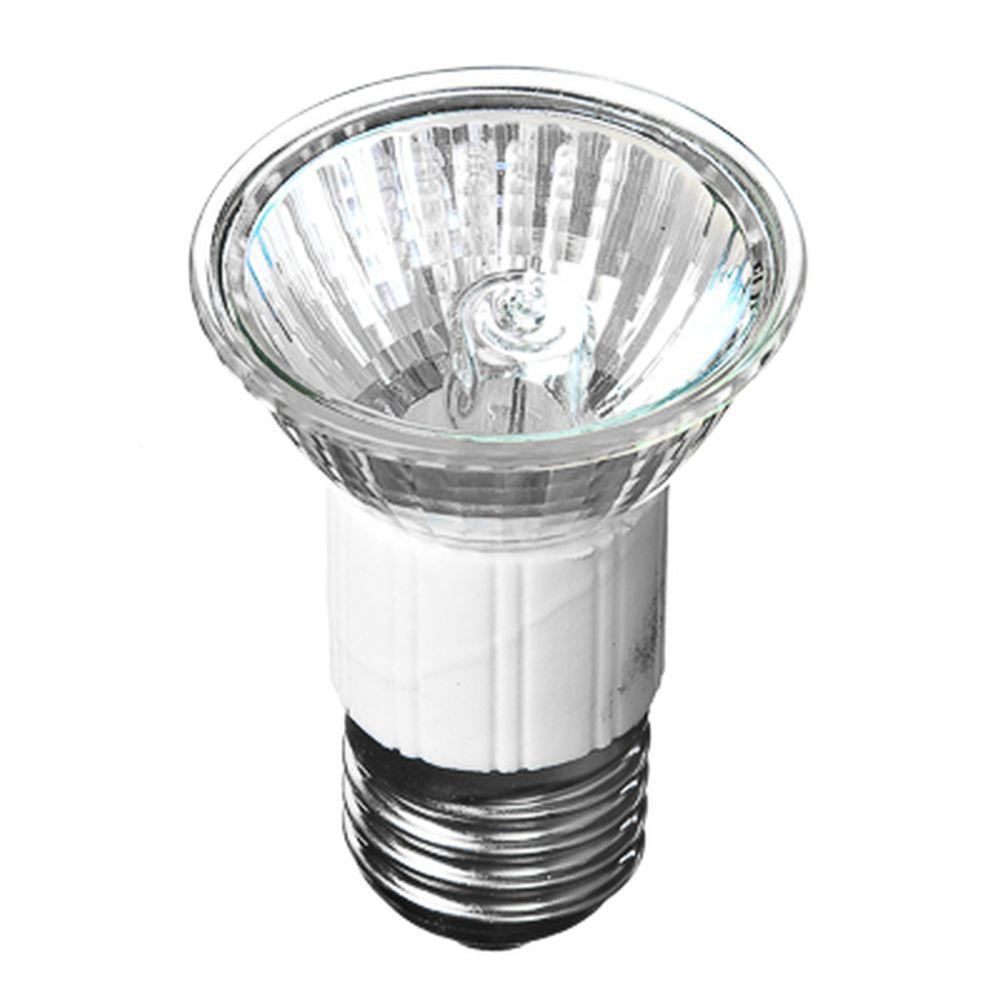 FORZA Лампа галогенная с защитным стеклом, цоколь E27, 220В, 50Вт, 2800K, ресурс 2 000ч., D50 мм