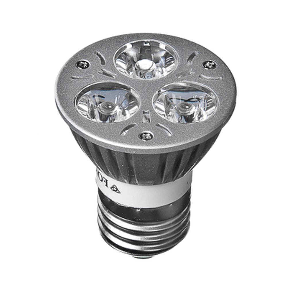 FORZA Лампа светодиодная высокомощная, цоколь Е27, 3 Вт LED, 3Вт, 3500K, 220В, ресурс 30 000 ч.