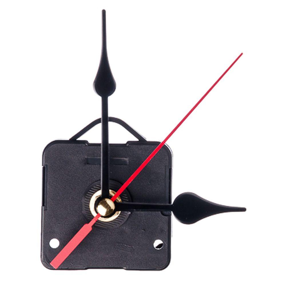 Механизм часовой со стрелками и подвесом, пластмасса, металл