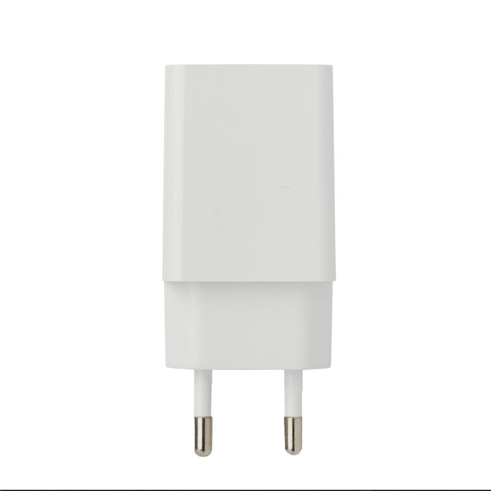 Зарядное устройство USB, 220В, 1.0A, плоское, черный