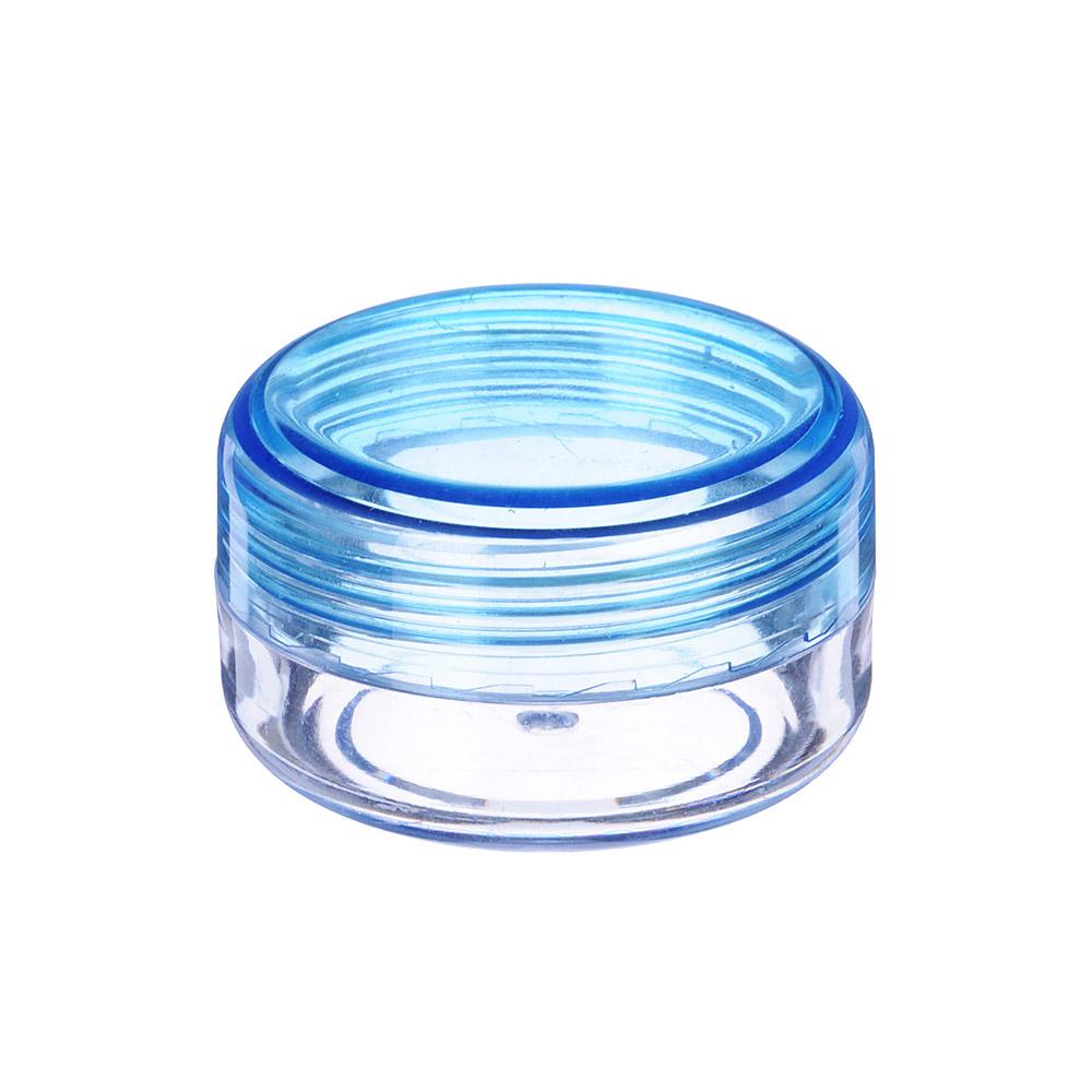 Контейнер косметический, пластик, d=4,4 см, h=2,5 см