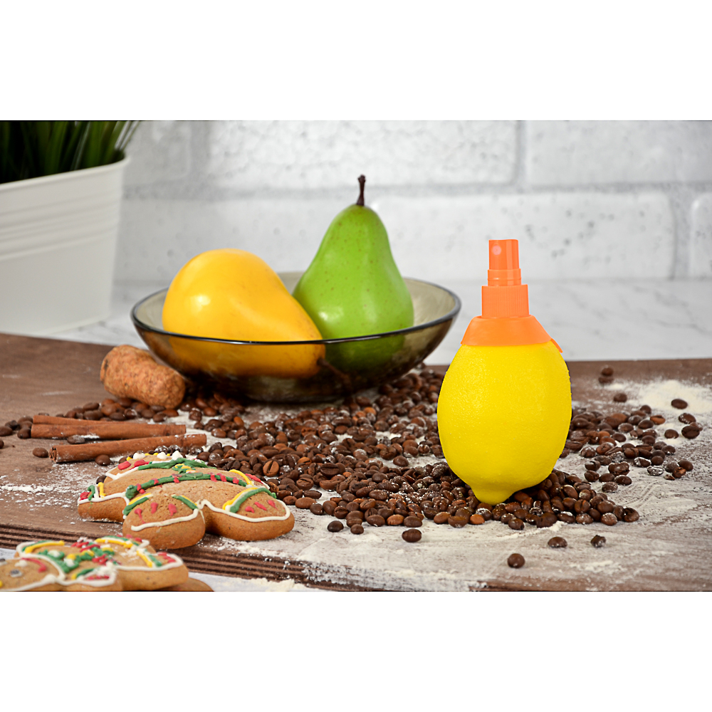 Спрей для цитрусовых фруктов на подвесе, пластик/резина