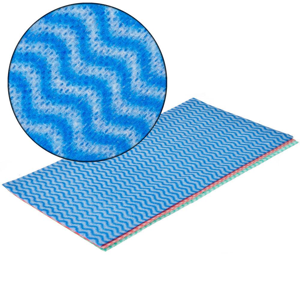 Набор салфеток перфорированных из вискозы 3 шт, 30x60 см, VETTA