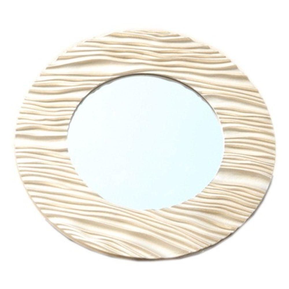 Зеркало настенное 49х49см, в багете ХДФ под золото Р004