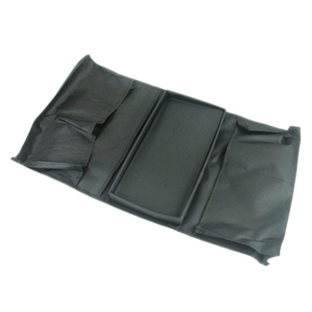 Органайзер для дивана, черный, 56х32см, ПВХ