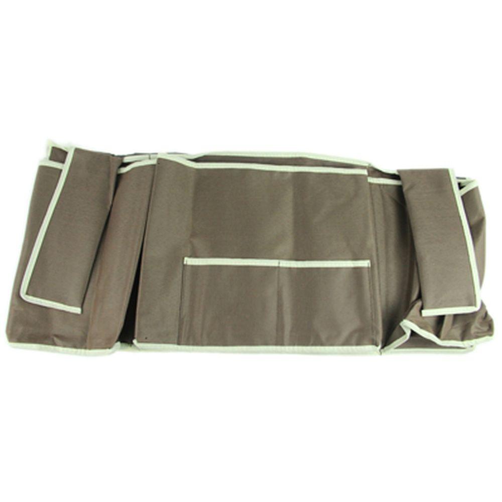 Органайзер для кровати, бежевый, 58х26,5см, ПВХ