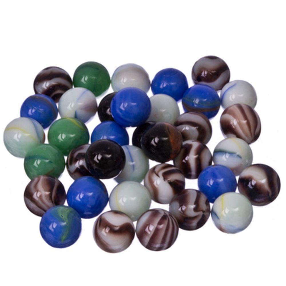 Камни декоративные 200гр, разноцветные, стекло, арт.019