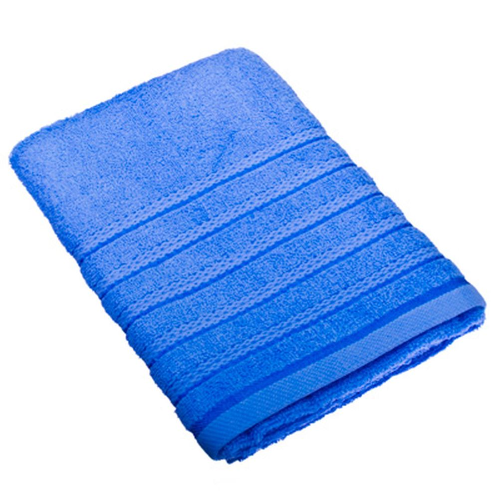 VETTA Полотенце банное, 100% хлопок, 50x100см, Онтарио голубое