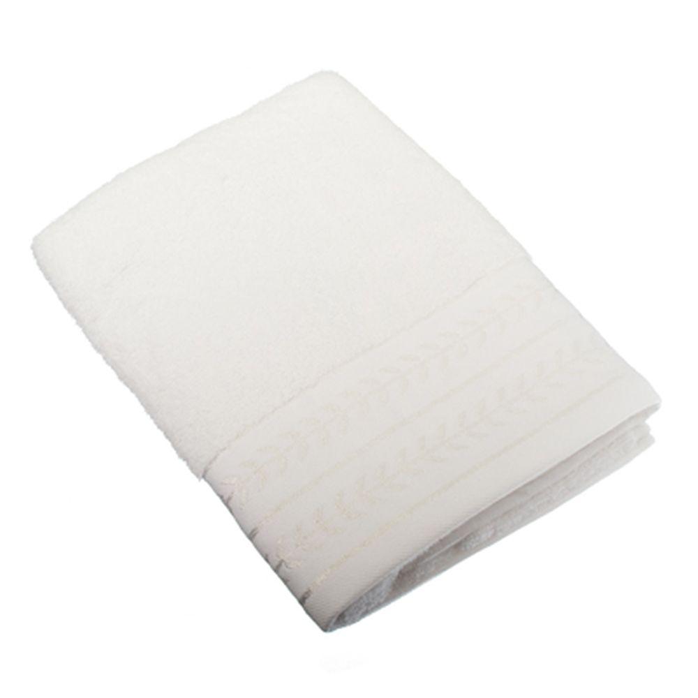 VETTA Полотенце махровое, 100% хлопок, 50х100см, Орегано белое