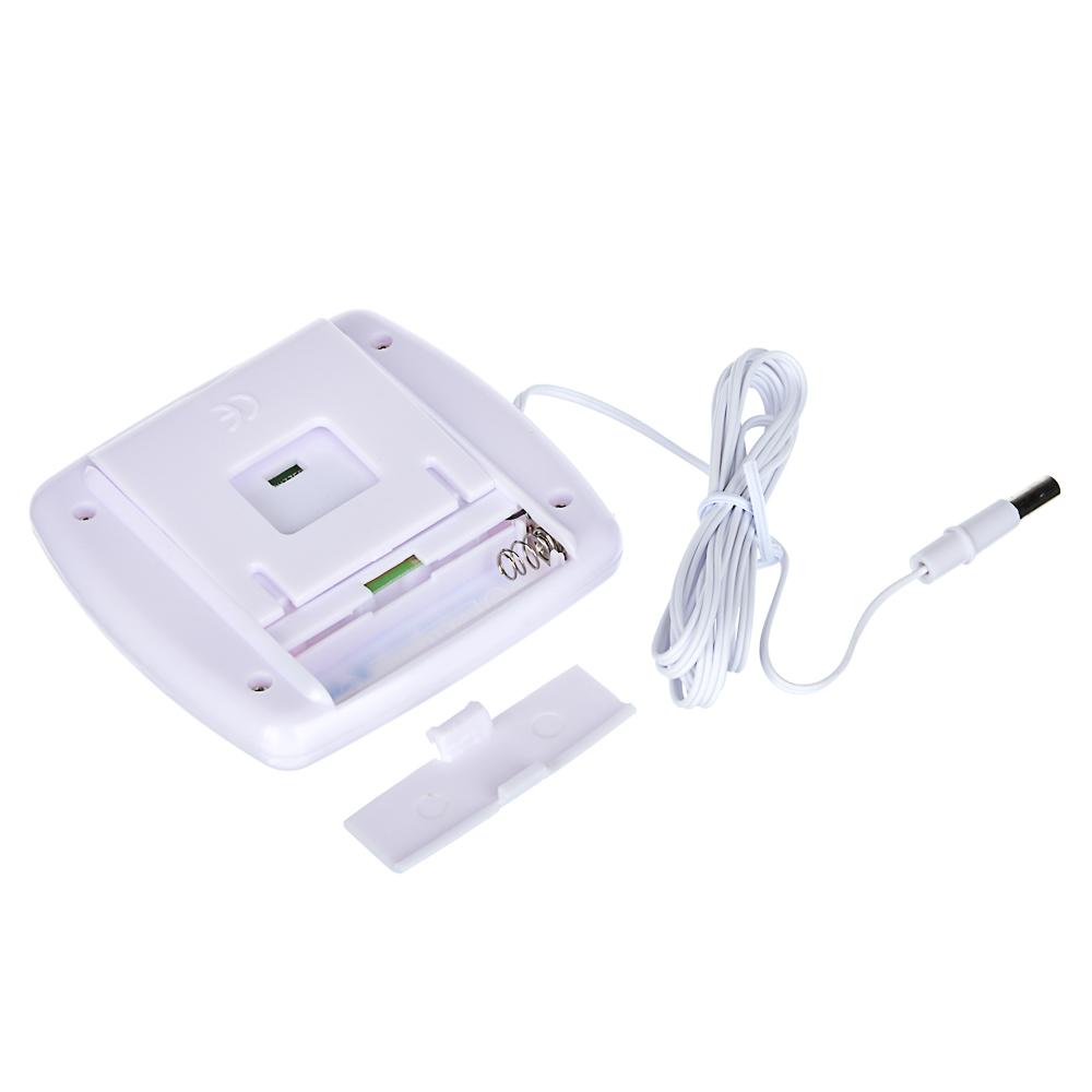 INBLOOM Термометр электронный 2 режима, с уличным датчиком, пластик, 7,5x7,6см, TA-268A