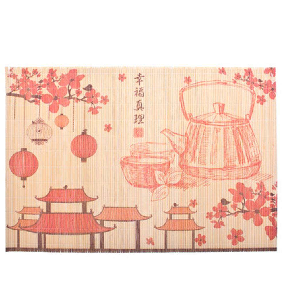 "Салфетка бамбук, 45х30см, ""Япония"" GCD05, дизайн GC"