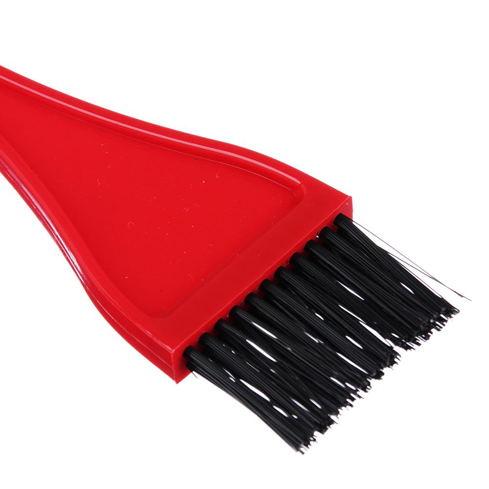 Щетка для окрашивания волос, пластик, 20,6х3,6 см, 3 цвета