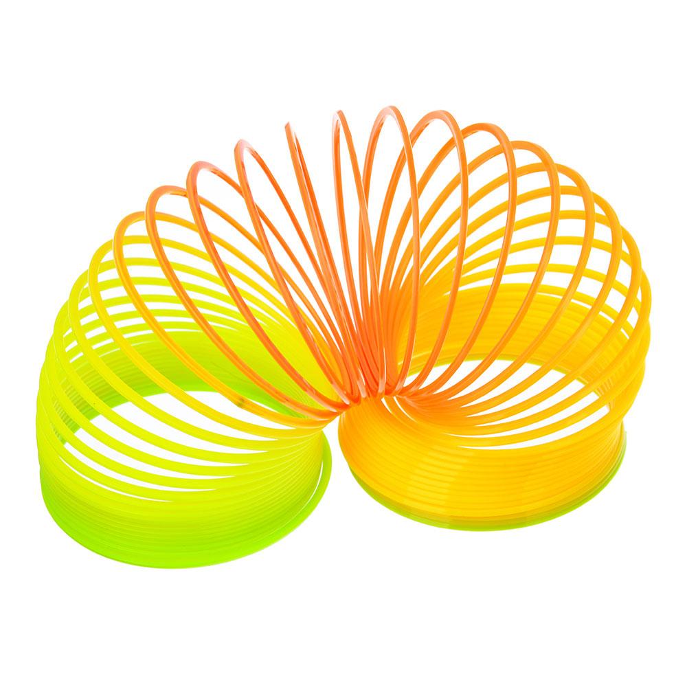 "Пружинка-радуга пластик ""Мультиколор"" 6х6см"