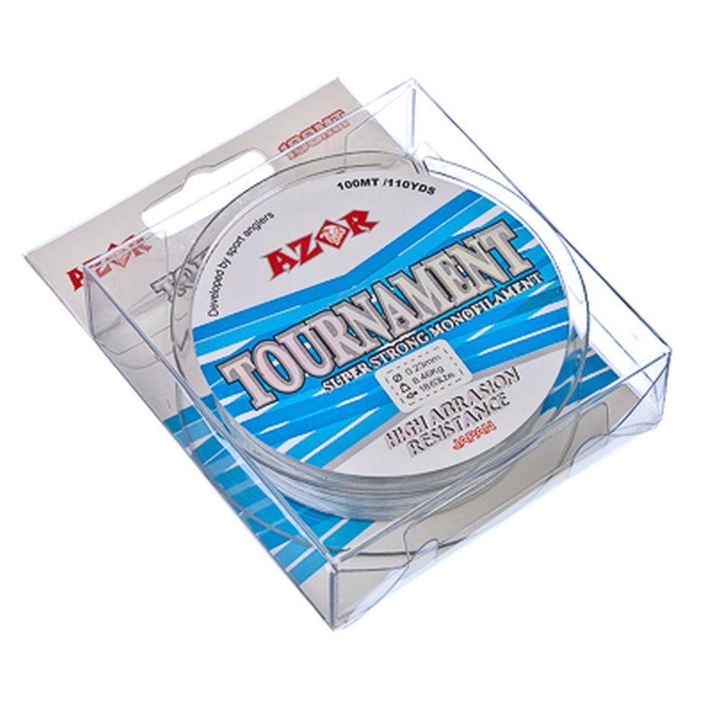 AZOR Леска Tournament 0,23 мм, 100м, прозрачная