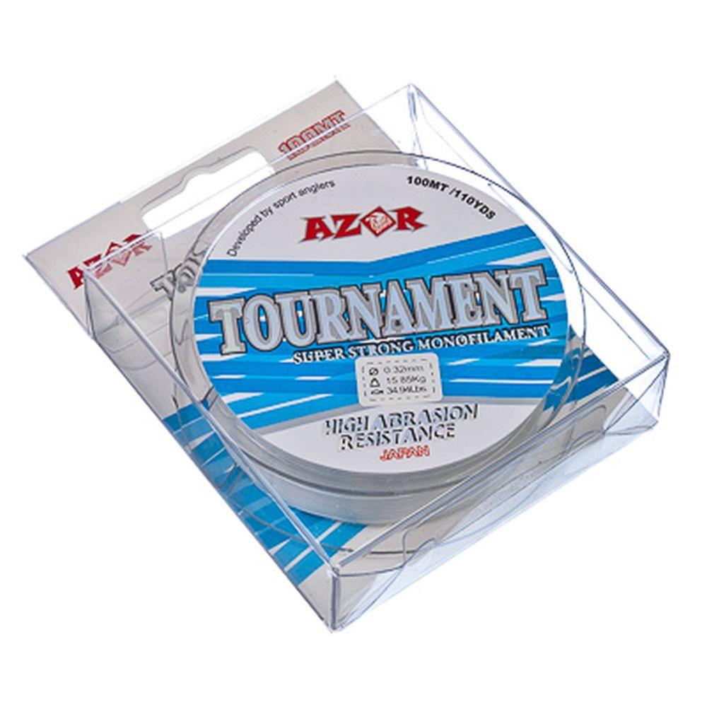 AZOR Леска Tournament 0,32 мм, 100м, прозрачная