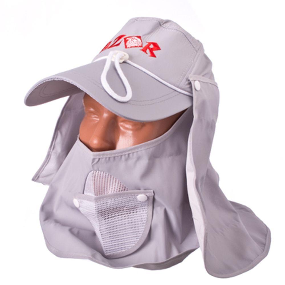 AZOR Кепка с отстегивающейся защитой шеи/лица, полиэстер