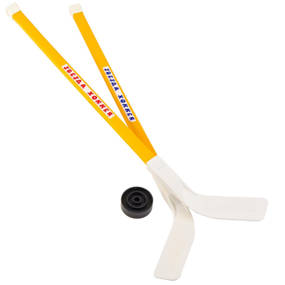 Набор для хоккея детский: 2 клюшки, шайба