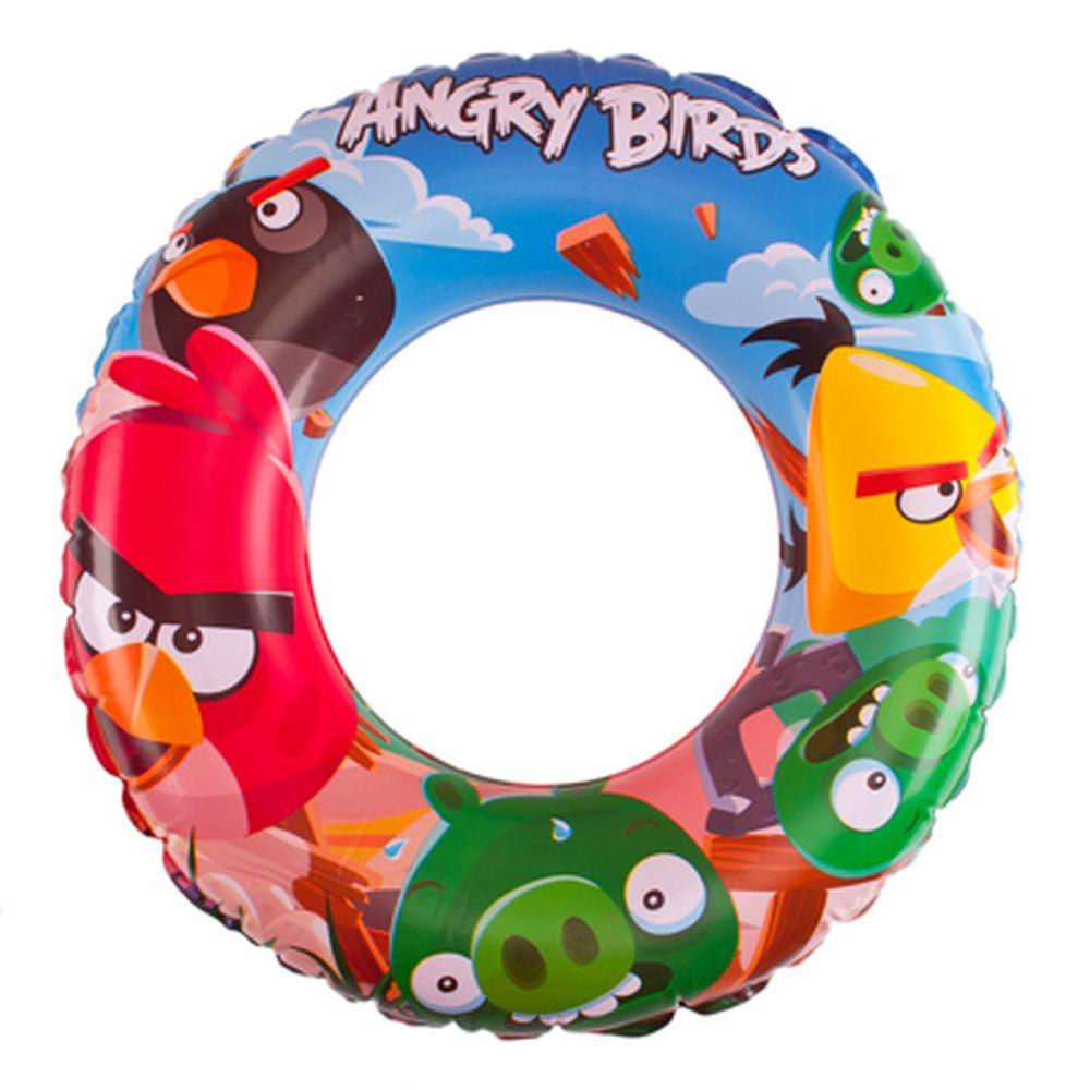 BESTWAY Круг для плавания 56см Angry Birds, 96102B