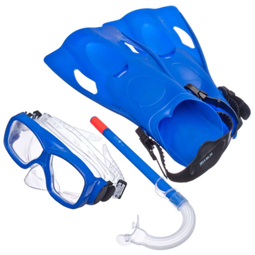 BESTWAY Набор для ныряния подростковый (маска+трубка+ласты) SureSwim, 25019