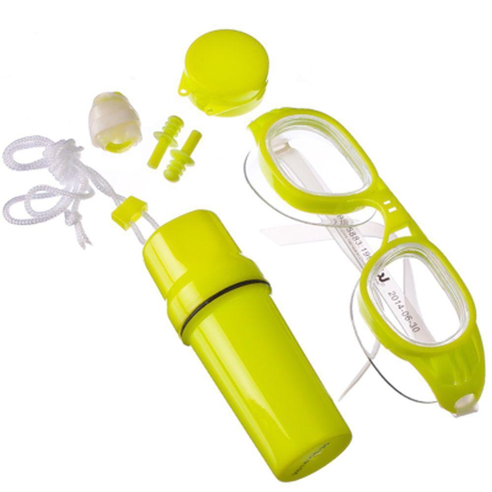 Набор для плавания (очки, зажим для носа, затычки для ушей, контейнер для ценных вещей), BESTWAY, 26